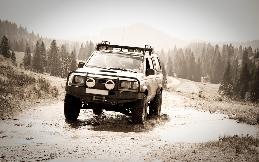 The Complete Beginner's Guide to 4 X 4 Off Roading